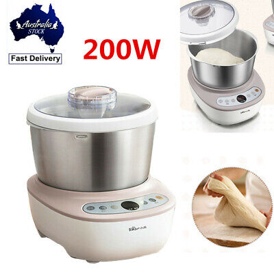 5L 200W Stainless Steel Automatic Electric Flour Dough Mixer Household Machine