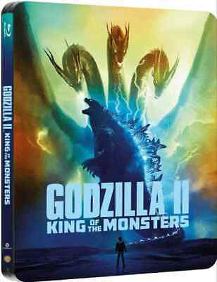 Godzilla: King of the Monsters (Blu-ray Steelbook) NEW - PRE-ORDER