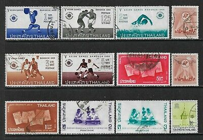 THAILAND SIAM Very Interesting Early All Used Issues Selection (Aug 071)