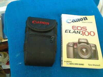Canon Camera Case And Eos Elan.100 Users Guide Both Excellent