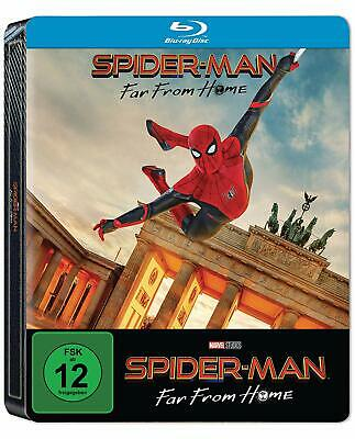 Spider-Man Far from Home (Blu-ray Steelbook) NEW / SEALED - PRE-ORDER