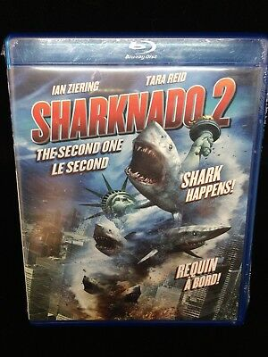 Sharknado 2 - The second one blu-ray CAN Bilingual 2014 Bluray NEW SEALED