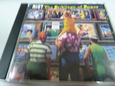Riot ‎–  The Privilege Of Power  1990  1ST  RARE  JAPAN  OBI  PRESS  TOP  CD !
