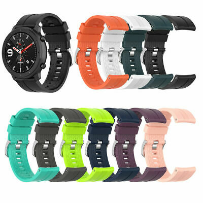 For AMAZFIT GTR 47mm Watch Replacement Silicone Wrist Strap Band Bracelet 22mm