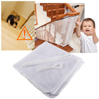 Stair Safety Net Small Gridding Protection Installation Baby Secure Gates