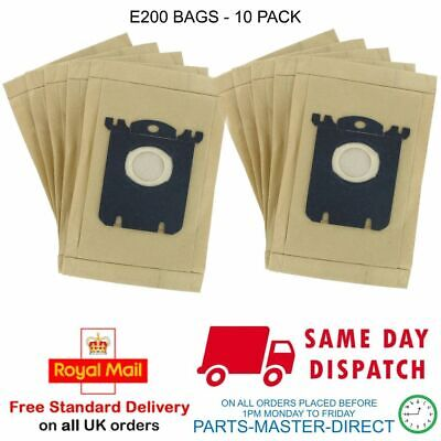 ELECTROLUX S-Bag Vacuum BAGS X10  Patented Preventing Bad Smells MENALUX 180...