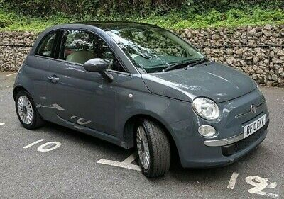 FIAT 500 LOUNGE Automatic Dualogic Grey 2010 1 2ltr 52000 miles 69BHP 2  Owners