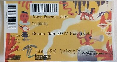Green Man Festival ticket  x1 Adult: delivery in London or Special Delivery