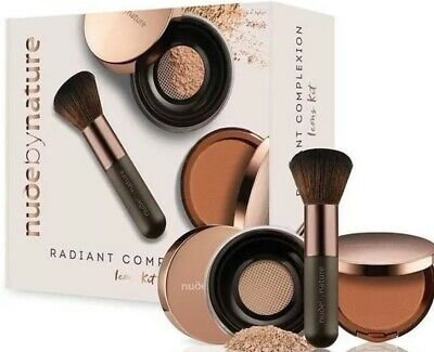 Nude By Nature Radiant Complexion Icons Kit in Medium. Brand New