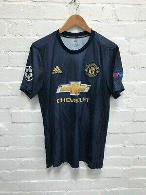 Manchester United adidas 18/19 3rd Shirt - M - Lingard 14 - Good Condition