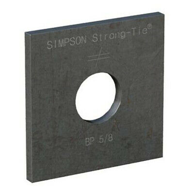 """Simpson Strong-Tie BP-5/8 5/8"""" Bolt Dia. 2-1/2"""" x 2-1/2"""" Bearing Plate"""
