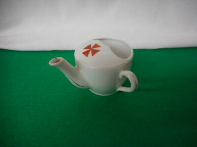 Vintage Red Cross White Porcelain Invalid Cup
