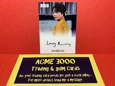 Unstoppable Avengers Complete Collection LUCY FLEMING Autograph Card AVLF1 CASE
