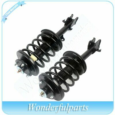 For 2003-08 Honda Pilot 2 pieces Front Complete Struts Shocks w/Spring Assembly