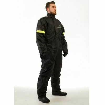 Viper H2Out Motorbike Motorcycle Oversuit Waterproof Suit 1 Piece Black New