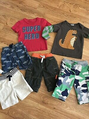 Boys Mixed Lot! Mini Boden Baby Boden Gymboree Childrens Place Peek Size 6-18 Mo