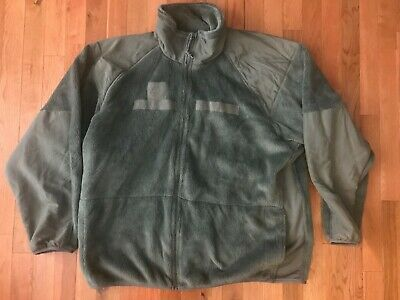 US Military Army Gen 3 ACU Foliage Green Polartec Fleece Jacket SS S M L LS XL
