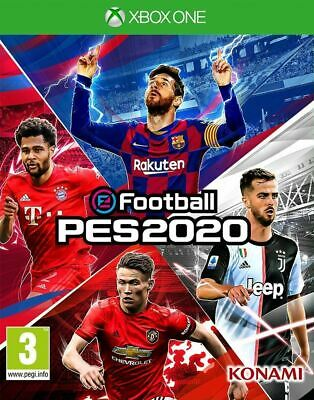 E Football PES 2020 (Xbox One) In Stock Brand New & Sealed UK PAL