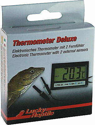 Lucky Reptile Thermometer DELUXE # 62031