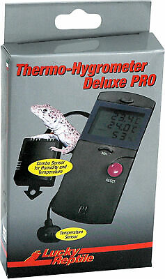 Lucky Reptile Thermo-Hygrometer DELUXE PRO # 62034