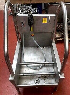Bootwash - Manual Single Station with Brush - Syspal - Hygiene Equipment - VAT