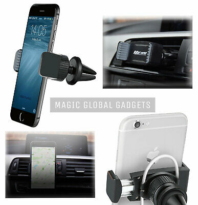 Axpower Itep® In Car Magnetic Phone Holder Fits Air Vent Universal Mount - Uk