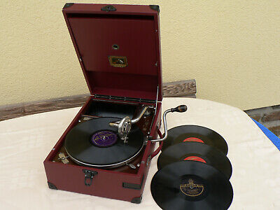 His masters voice Gramophone 101 rot