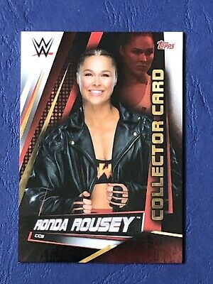 Topps Slam Attax Universe 2019, Collector Card CC5, Ronda Rousey