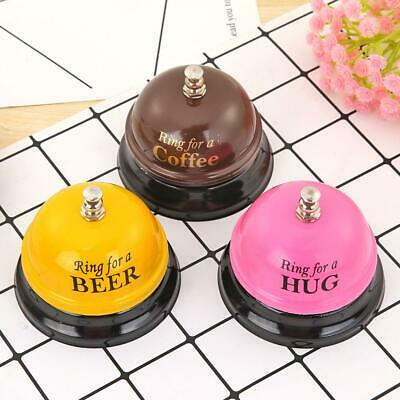 1X Restaurant Timer Hotel Counter Desk Bell Ring for Kitchen Service Call Bell