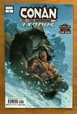 CONAN THE BARBARIAN EXODUS #1 8//14//19