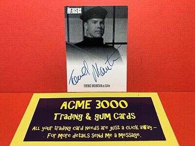 Unstoppable Avengers Complete Collection TERENCE MOUNTAIN Autograph Card AVTM1