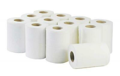 White Mini Centrefeed Rolls 24 x 60m Rolls 2Ply White Kitchen Towel Wholesale
