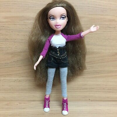 Bratz 10th Anniversary Carrie Doll With Long Hair & Outfit