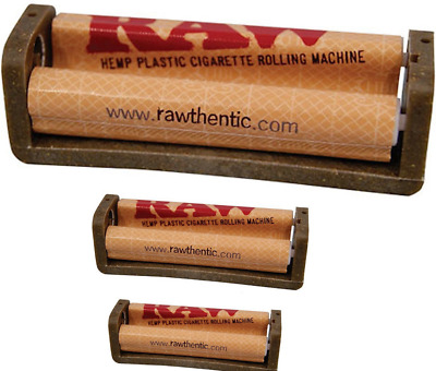 RAW Hemp Coated Plastic Cigarette Raw Papers Rolling Machine 110mm/79mm/70mm