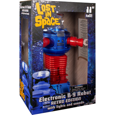 Diamond Select Toys Lost in Space Retro B9 Robot With Lights And Sounds