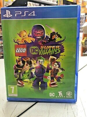 LEGO DC Super Villains Ita PS4 USATO GARANTITO