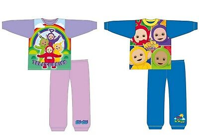 Boys Girls Kids Toddler Baby Teletubbies Long Sleeve Pyjamas Pjs Age 1-4 Years