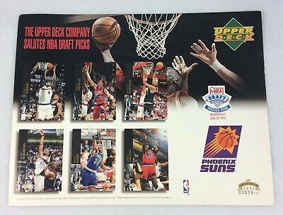 NBA 1994 Upper Deck Salutes NBA Draft Prospects Limited Edition Piece