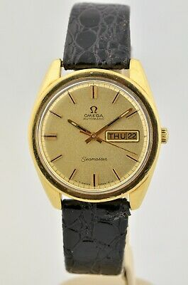 1969 Vintage Omega Seamaster Gold Plated Automatic Watch Cal. 750 Watch