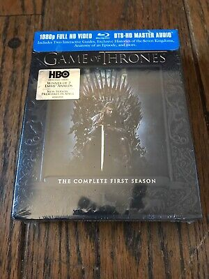 Game of Thrones: The Complete First Season Blu-Ray Disc, 2012, 5-Disc Set Sealed