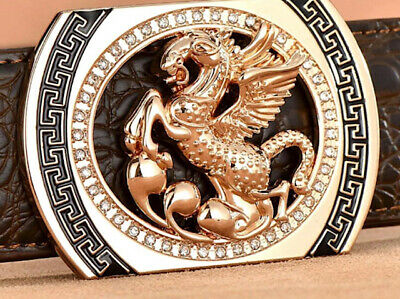 Uk Womens Designer Pin Buckles For 38Mm Belts H Belt Buckle Horse Diamonds Women