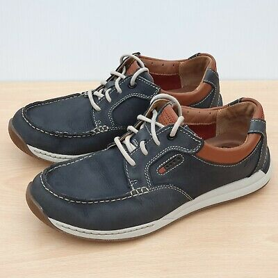 CLARKS MENS * Javery Time * Brown Tumbled Lea ** Active Air
