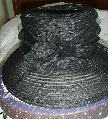 Ladies Black Hat Weddings/Races/Occasions By Bhs Limited