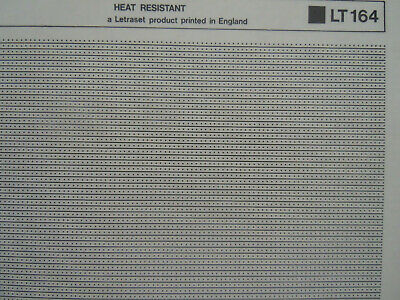 LETRASET Letratone SCREENTONE Dry Adhesive PATTERN dots & lines #LT164