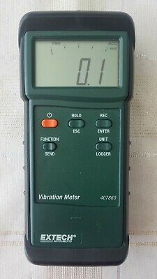 Extech 407860 Heavy Duty Vibration Meter. Free Shipping.