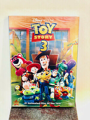 Toy Story 3 DVD DISNEY PIXAR WITH SLIP COVER BRAND NEW SEALED