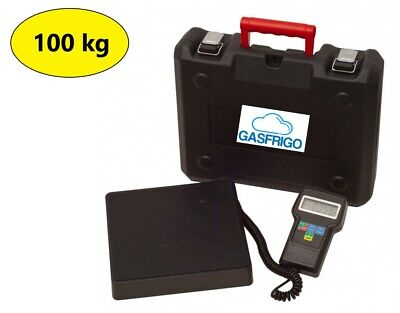 Electronic Scale 100 kg Refill Gas Coolant R404A R410A R134A