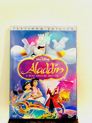 Aladdin (DVD, 2004, 2-Disc Set, Special Edition) Disney Classic Movie New