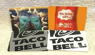 Taco Bell Mexican Restaurant Gift Cards - Collectible Only - Your Choice!