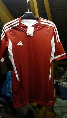 New adidas football top - possibly Danish team or Liverpool?? Not sure
